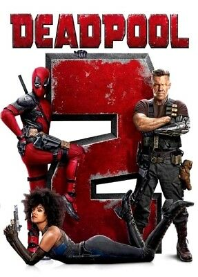 Deadpool 2  Dvd 2018  New   Action  Comedy  S Fiction  Pre Order Ships On 08 21