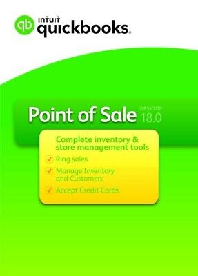Intuit Quickbooks Point Of Sale V18.0 Pro New From A Premier Certified Reseller
