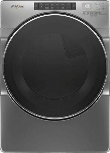 Whirlpool WGD6620HC 27 Inch Gas Dryer W/Steam Refresh Cycle, Chrome Shadow NEW