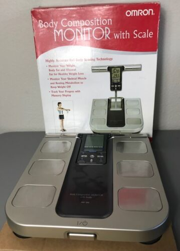 Omron HBF-500 Body Composition Monitor with Scale