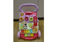 VTECH pink first steps Walker