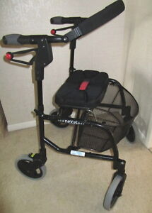 NEXUS 3 = Ultra Compact Folding ROLLATOR with LARGE BASKET