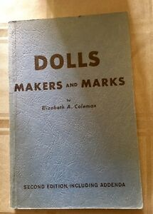 Doll Makers and Marks circa 1963
