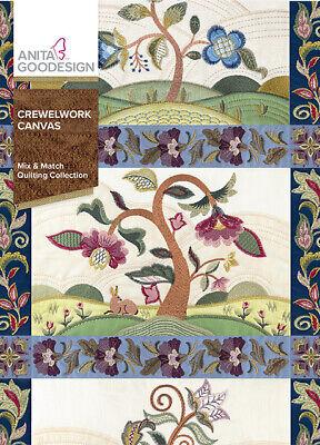 Crewelwork Canvas Anita Goodesign Embroidery Design Machine CD