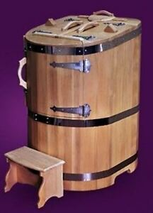Russian Cedar Barrel Steam Sauna