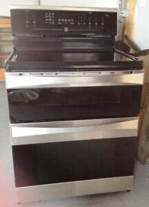 Kenmore double oven.