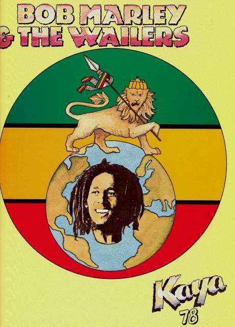 BOB MARLEY AND THE WAILERS 1978 KAYA CONCERT TOUR PROGRAM BOOKLET