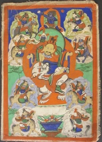 Old Thangka Painting from Mongolia