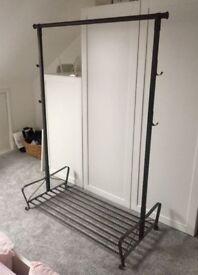Ikea mental clothes rail