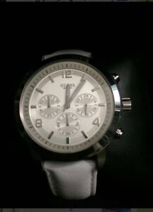 White leather guess watch London Ontario image 3