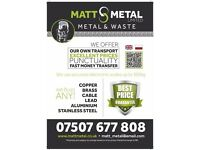 ANY SCRAP METAL WANTED, WASTE DISPOSAL RUBBISH CLEARANCE SERVICES #SAME DAY COLLECTION #ALL LONDON