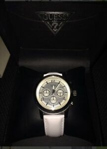 White leather guess watch London Ontario image 1