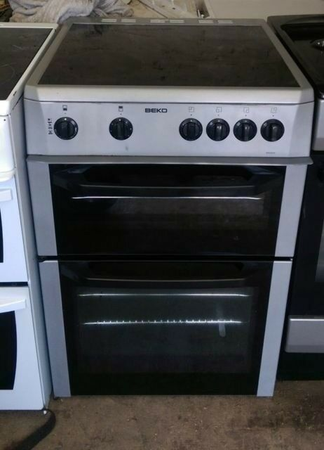 6 MONTHS WARRANTY Beko AA energy rated, 60cm, fan assisted electric cooker FREE DELIVERY