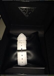White leather guess watch London Ontario image 2