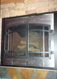 Fmi victorian natural gas fire 36 inch front