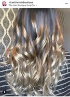 Specail price $80.00  for Full Foil Highlights or Balayage