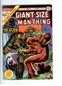 Marvel Comics, Man Thing (1st & 2nd Series & Fear)……….