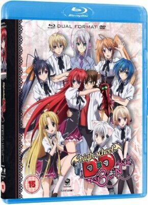 Nuevo Alta Escuela Dxd Temporada 3 Blu-Ray
