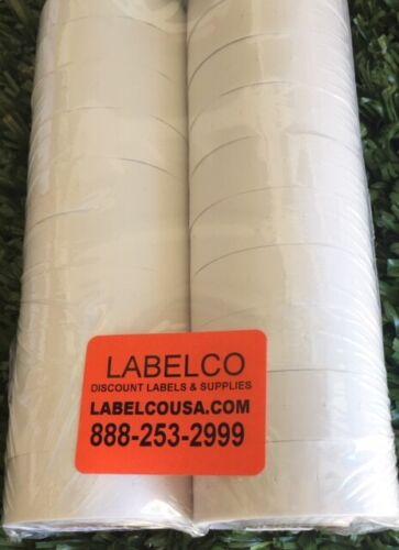 SATO/ AVERY DENNISON PB105/106 PB-1 WHITE LABLS 20 ROLLS OF 1,000 *FREE SHIPPING