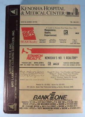 KENOSHA WISCONSIN 1958 WRIGHT CITY DIRECTORY 681 - $39.98