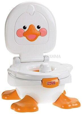 Fisher Price® T6211 Töpfchen und Fußbank Lerntöpfchen Toilettentrainer mit Musik