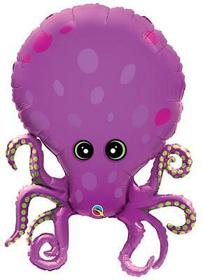 """Amazing Octopus 35"""" Foil Balloon - Under the Sea Party"""