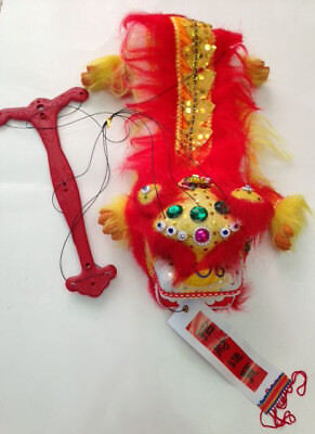 CHINESE NEW YEAR PUPPET LION DRAGON HEAD DANCE HANGING