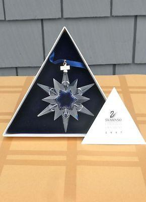 1997 SWAROVSKI CRYSTAL STAR ORNAMENT - MINT IN BOX