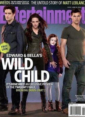 Entertainment Weekly Magazine 6 22 2012 Twilight Breaking Dawn Robert Pattinson