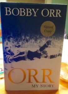 BOBBY ORR MY STORY AUTOGRAPHED