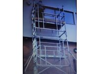 Aluminium scaffold tower hire. Free local delivery. Best prices guaranteed. Call now.