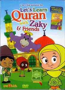 LETS LEARN QURAN WITH ZAKY AND FRIENDS DVD ISLAMIC CARTOON WATCH & LEARN