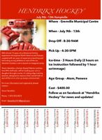 Hockey Camp July 9 - 13 Kemptville