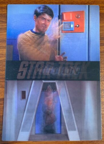 1999 Rittenhouse Star Trek Motion #5 The Naked Time Free Shipping