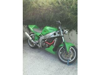 Kawasaki zx6r custom, swap for car