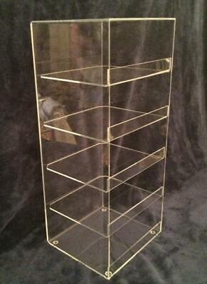 Acrylic Convenience Store Counter Top Display Case 8x 7x 21 Display Box Clear