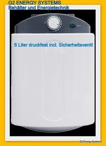5 liter boiler warmwasserspeicher ebay. Black Bedroom Furniture Sets. Home Design Ideas