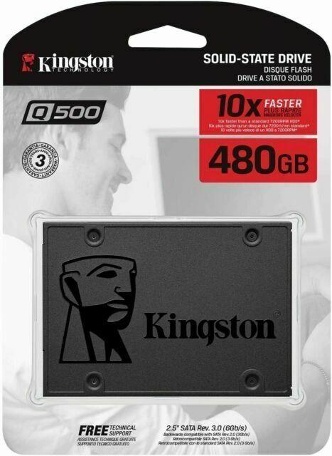 KINGSTON 480GB Q500 SATA3 2.5 SSD