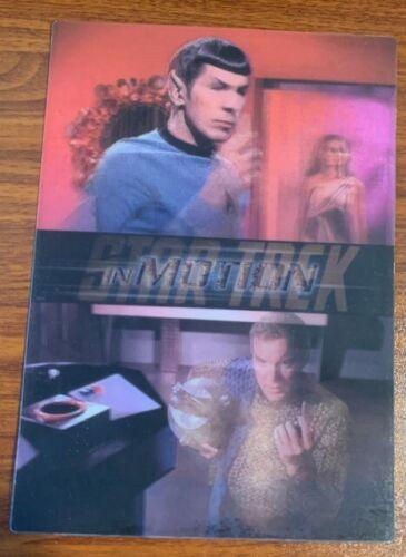1999 Rittenhouse Star Trek Motion #22 The Enterprise Incident Free Shipping