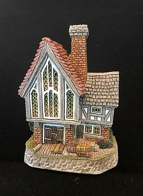 David Winter ~ STAINED GLASS STUDIO ~ MIB ~ COA ~ 1999 SPECIAL EVENT ~ SIGNED DW