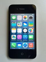 iPhone 4  Unlocked in  box - very Good Condition Parkinson Brisbane South West Preview