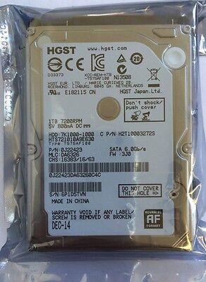"""Hitachi 1TB 32MB 7200RPM SATAIII (6.0Gb/s) 2.5"""" PS3 & PS4 Hard Drive 0J22423"""