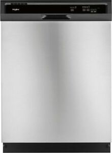 Whirlpool WDF330PAHS Built-In Undercounter Dishwasher,