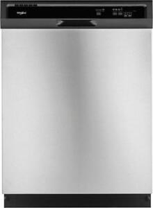 Whirlpool WDF330PAHS Built-In Undercounter Dishwasher, 24""