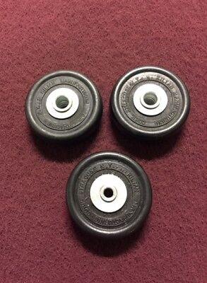 Clarke Ez8 Wheels Complete Set - 2 Side 59945a 1 Rear 59960a