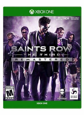 Saints Row: The Third Remastered - Xbox One - NEW FREE US SHIPPING