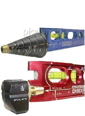 Checkpoint laser torpedo level accessory, slope block or center bore kit. spirit