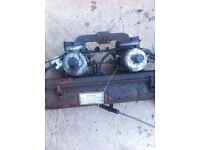 Twin webbers of a TR7 for sale or swap