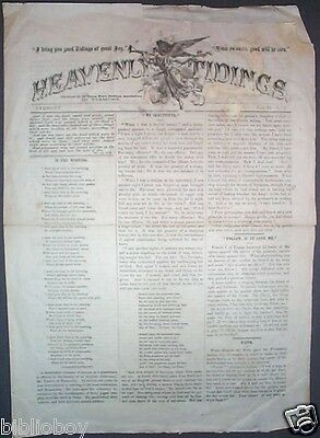 Rare Original Issue of Heavenly Tidings Published by the YMCA in Vermont