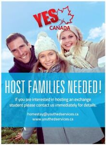Host Family for International Student - Gibsons